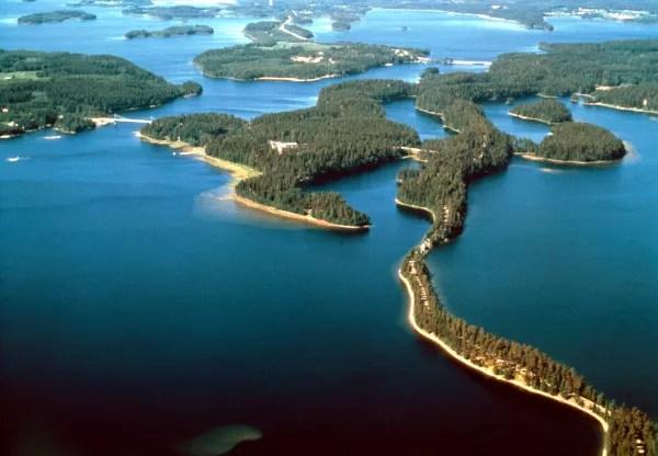 Fotos de Finlandia, Punkaharju