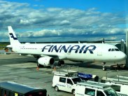 Fotos de Finlandia, avion de Finnair