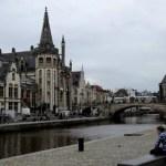 Fotos de Gante en Flandes, zona de Graslei