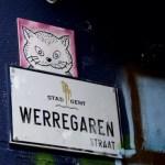 Fotos de Gante, ruta street art callejon