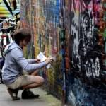Fotos de Gante, ruta street art grafffitero