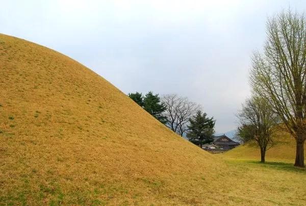 Fotos de Gyeongju, parque de los túmulos