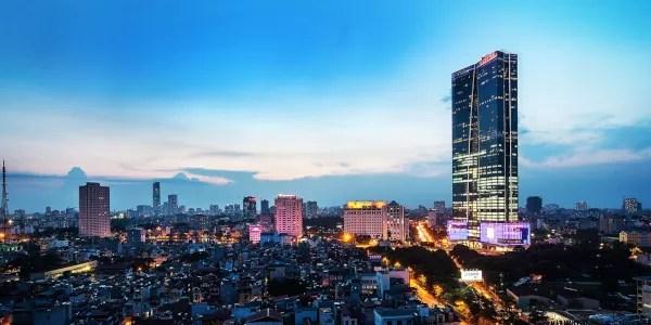 Fotos de Hanoi en Vietnam, Lotte Center Hanoi