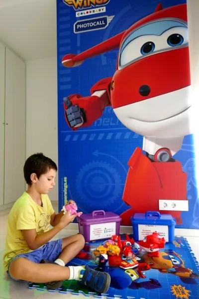 Fotos de Hotel del Juguete de Ibi, Teo habitacion Super Wings