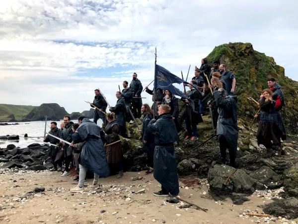 Fotos de Irlanda del Norte, batalla Juego de Tronos Ballintoy