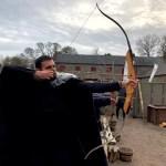 Fotos de Irlanda del Norte, tiro con arco en Castle Ward