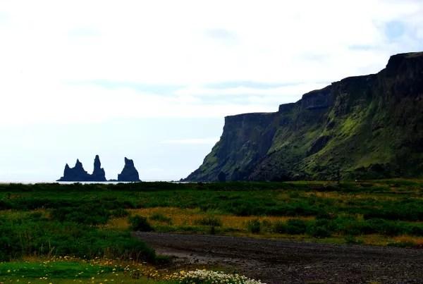 Fotos de Islandia, los tres trolls de Vik