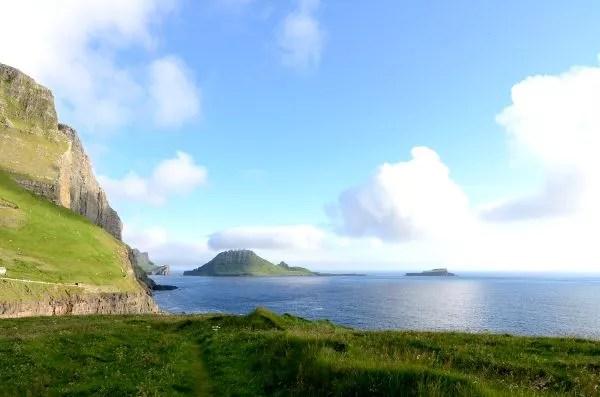 Fotos de Islas Feroe, Tindhólmur desde Gásadalur