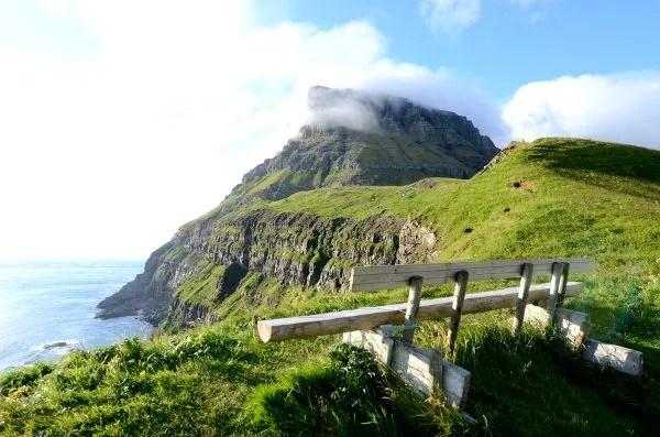 Fotos de Islas Feroe, paisaje de Gásadalur