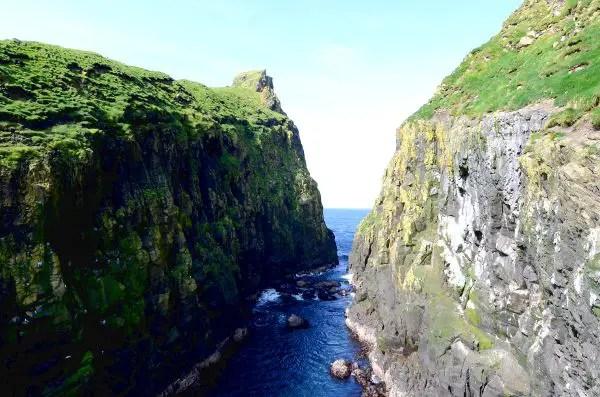 Fotos de Islas Feroe. Mykines, acantilados