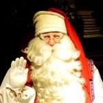 Fotos de Laponia Finlandesa, Papa Noel en Joulukka