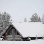Fotos de Laponia Finlandesa, casa nevada
