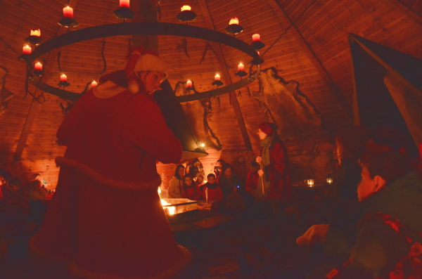 Fotos de Laponia Finlandesa, en la cabaña de Joulukka