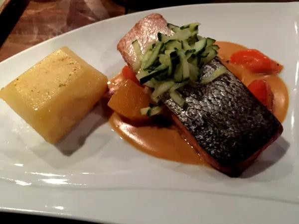 Fotos de Laponia Finlandesa, salmon