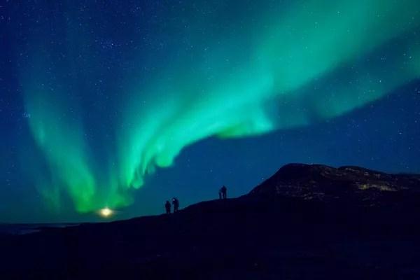 Fotos de Laponia Noruega, aurora boreal cerca de Tromso