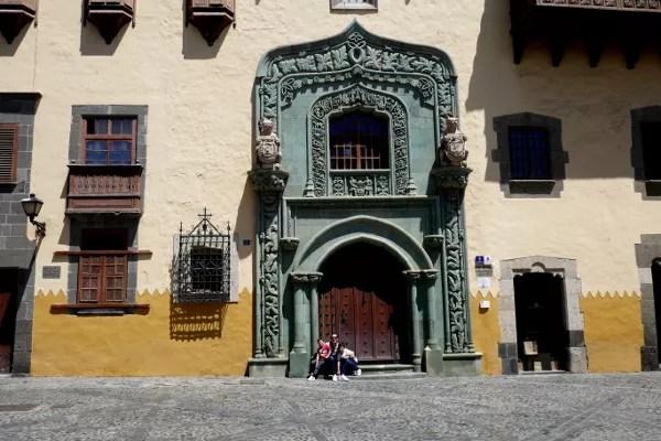 Fotos de Las Palmas de Gran Canaria, Vero,Teo y Oriol Casa de Colon