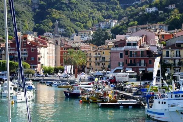 Fotos de Lerici en Italia, puerto