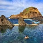 Fotos de Madeira, piscinas naturales de Porto Moniz