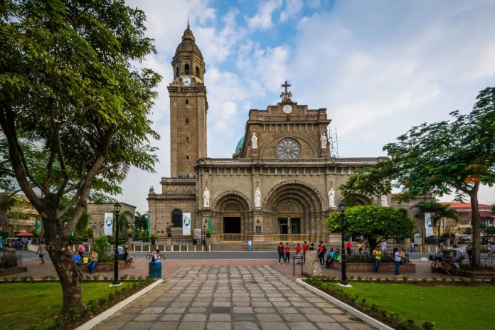 Fotos de Manila en Filipinas, Catedral