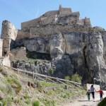 Fotos de Morella, Vero, Teo i Oriol en el castillo