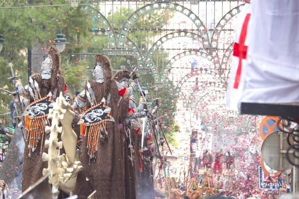 Fotos de Moros y Cristianos de Alcoy, San Nicolas