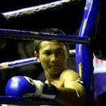 Fotos de Muai Thai en Bangkok, descanso en el rincon