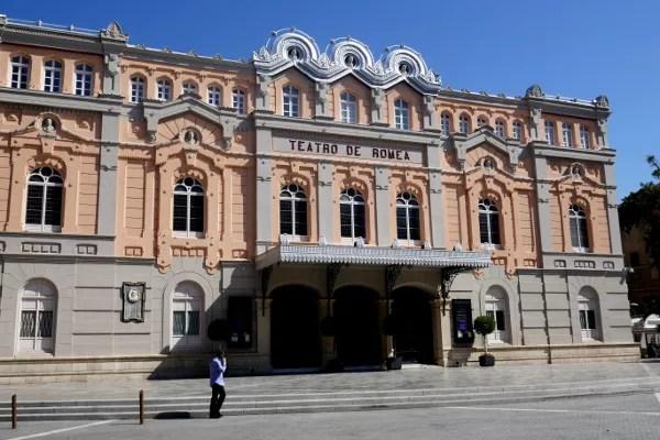 Fotos de Murcia, Teatro Romea