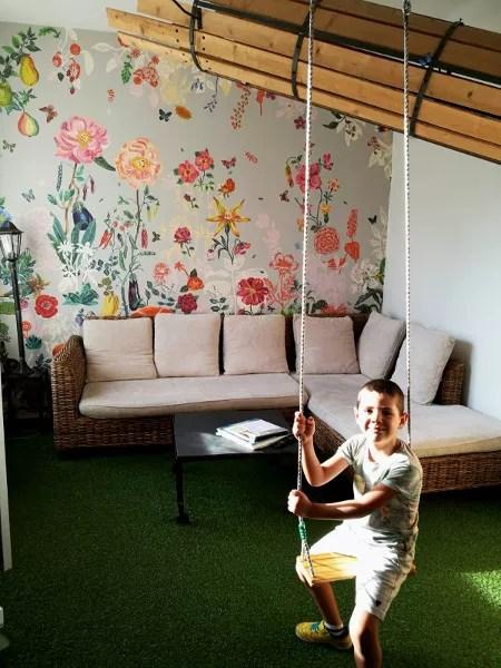 Fotos de Nantes en Francia, Oriol columpio apartamento