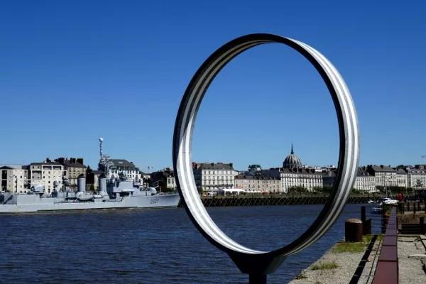 Fotos de Nantes en Francia, anillos Estuaire