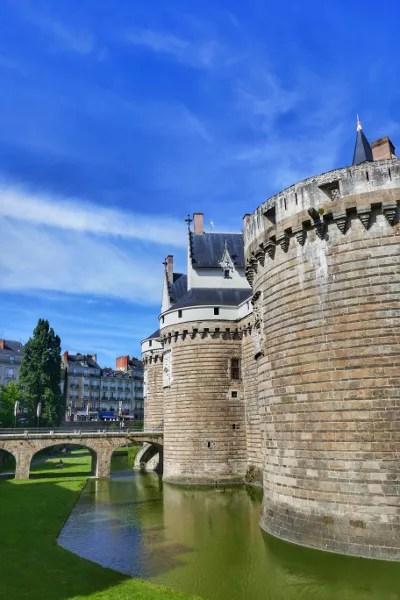 Fotos de Nantes en Francia, castillo