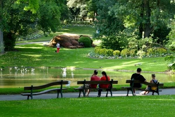 Fotos de Nantes en Francia, jardin botanico