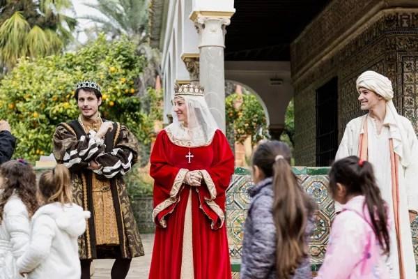 Fotos de Navidad en Sevilla, Alcazar