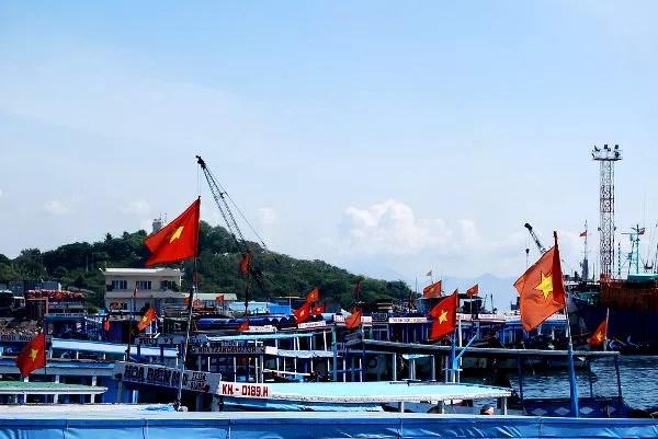 Fotos de Nha Trang en Vietnam, puerto