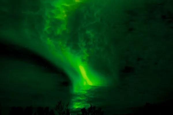 Fotos de Noruega Artica, aurora boreal en Harstad