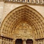 Fotos de Notre Dame de Paris, entrada