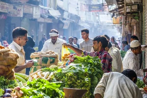 Fotos de Nueva Delhi en India, Chawri Bazar