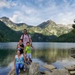Fotos de Pirineo de Lleida, Pau, Vero, Teo y Oriol Aiguestortes