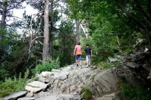 Fotos de Pirineo de Lleida, Teo y Guillem en Aiguestortes