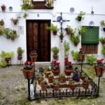 Fotos de Priego de Cordoba, patio del Barrio de la Villa