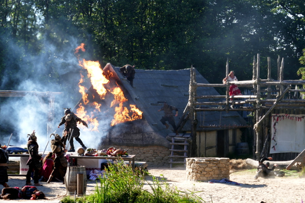 Fotos de Puy du Fou, espectaculo vikingos