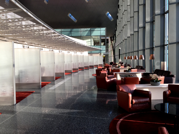 Fotos de Qatar Airways, lounge del aeropuerto