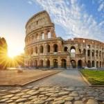 Fotos de Roma, Coliseo al atardecer