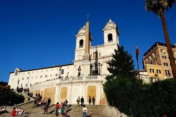 Fotos de Roma, Escalinatas de la Piazza di Spagna