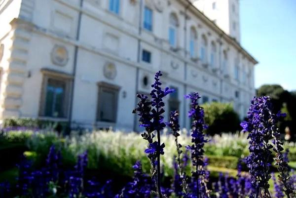 Fotos de Roma, Jardines del Museo e Galleria Borghese