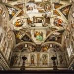 Fotos de Roma, la Capilla Sixtina en los Museos Vaticanos