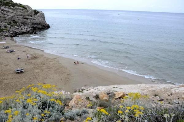 Fotos de Salou, playa dels Llenguadets