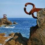 Fotos de San Sebastián, el Peine del Viento vertical