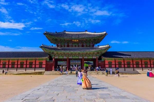 Fotos de Seul en Corea, Placio Gyeongbokgung