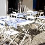 Fotos de Sintra en Portugal, terraza de restaurante