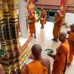 Fotos de Tailandia - crucero desde Ayutthaya, monjes